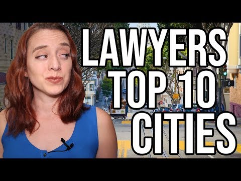 Top 10 Cities For Lawyers (Buying Power Index!)