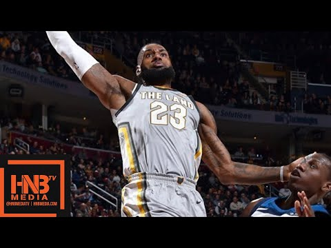 Cleveland Cavaliers vs Minnesota Timberwolves Full Game Highlights / Feb 7 / 2017-18 NBA Season