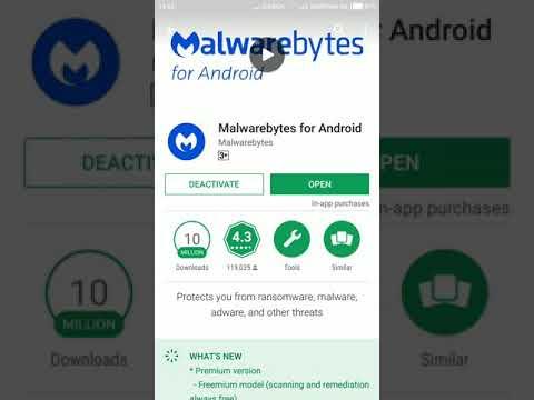 Tutorial Remove Malwarebytes On Android