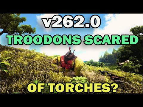 Ark survival evolved patch v2620 troodons scared of torches youtube ark survival evolved patch v2620 troodons scared of torches malvernweather Choice Image