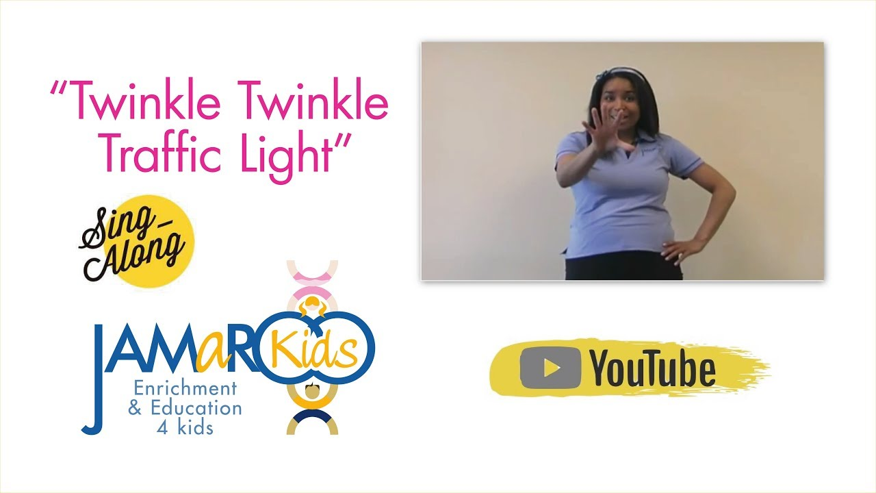 twinkle twinkle traffic light lyrics