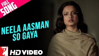 Neela Aasman So Gaya (Female) - Full Song HD | Silsila | Amitabh Bachchan | Rekha | Lata Mangeshkar