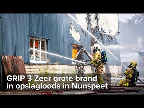 GRIP 3 Zeer grote brand opslagloods Hullerweg Nunspeet - ©StefanVerkerk.nl