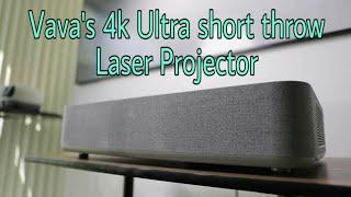 Vava's 4K ultra short throw Laser Projector | Technology Upgrade