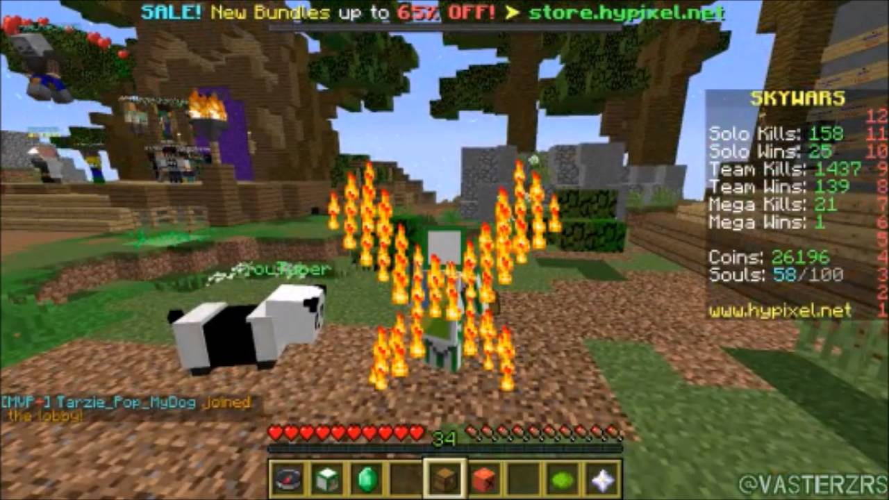 hypixel minecraft i opened a crate and received a fire cloak
