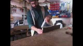Building a simple melamine kitchen cabinet