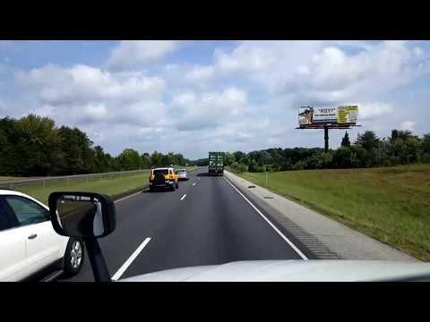 BigRigTravels LIVE! - Memphis to Wolcott, Indiana - Interstate 65 - August 17, 2017