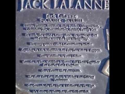 Jack LaLanne - GraveTour.com - Take a famous grave tour!