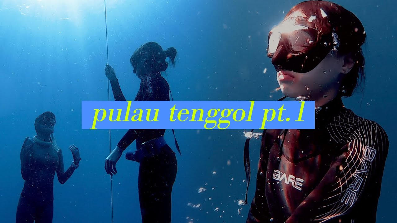 【CO VLOG】屏氣潛10米深!FREEDIVING x PULAU TENGGOL天鵝島 [上] - YouTube