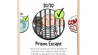 Brain Test 2 Tricky Stories | Prison Escape All Levels 1-20 | Solution - Walkthrough