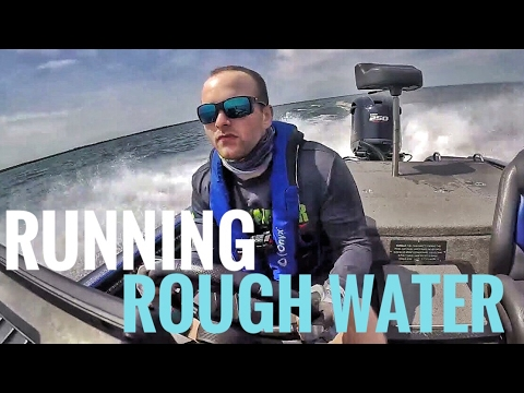 Boat Tips for ROUGH Water and BIG Waves