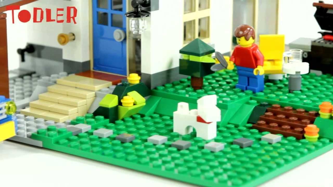 Lego Creator Dom Na Wzgórzu 5771 Youtube