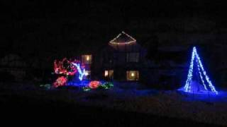 """Glory, Glory"" - Livonia Lights Christmas Light Show - Livonia, Michigan"