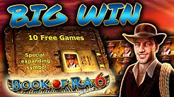 BIG WIN on Book of Ra 6! (Explorer Bonus)
