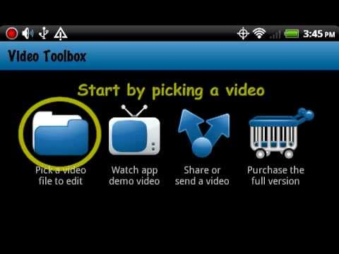 Video Toolbox video editor app for Android: rotate, resize, trim, flip, and convert - free trial