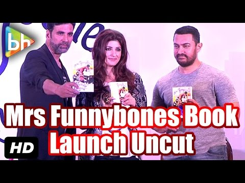 Event Uncut: Launch Of 'Mrs Funnybones' Book | Twinkle Khanna | Aamir Khan | Akshay Kumar