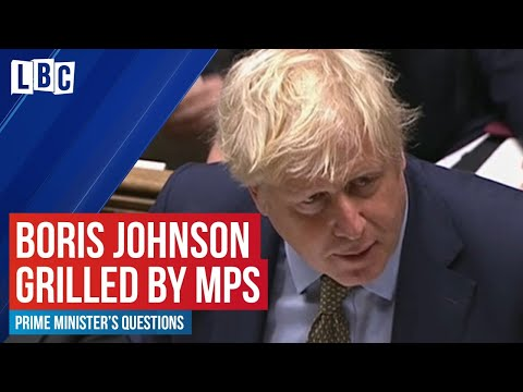 Boris Johnson v Jeremy Corbyn at PMQs | Prime Minister's Questions | LBC
