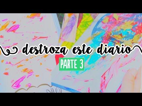 Destroza este diario (parte 3: Aventuras)  ✄ Craftingeek