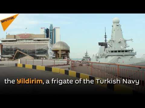 NATO Ships Enter Port Of Ukraine's Odessa