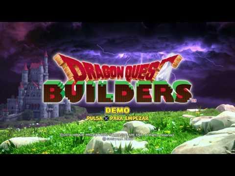 Dragon Quest Builder - Todo un mundo para crear - DEMO - Gameplay en Español HD ALEKSANGRE