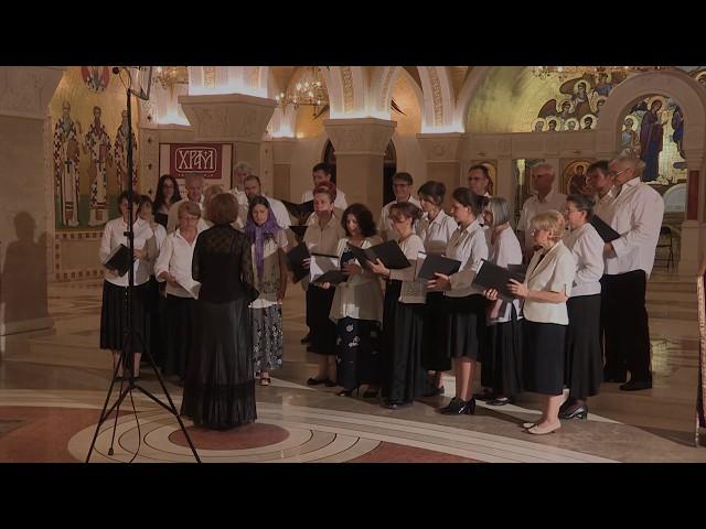 Хор Светог Великомученика Георгија - тропар Светим апостолима Петру и Павлу