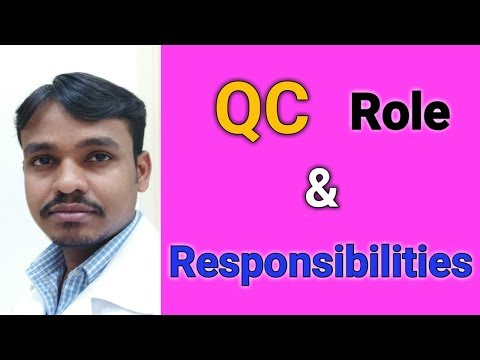 How to know about Quality Control department Role and Responsibilities