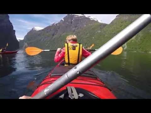 What an experience! Kayaktour Geirangerfjord with Seven Sisters waterfall