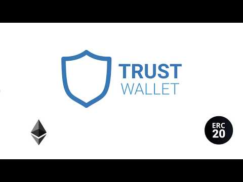How To Create An Ethereum Wallet And Trade ERC20 Tokens Using Trust Wallet