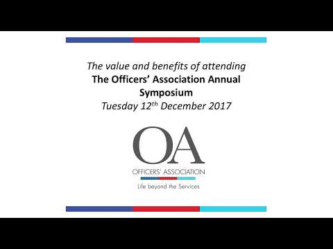 The value of attending the OA Symposium - December 12th 2017