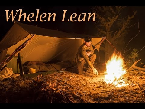 & Whelen Lean To from Beckel Canvas - First Camping Trip - YouTube