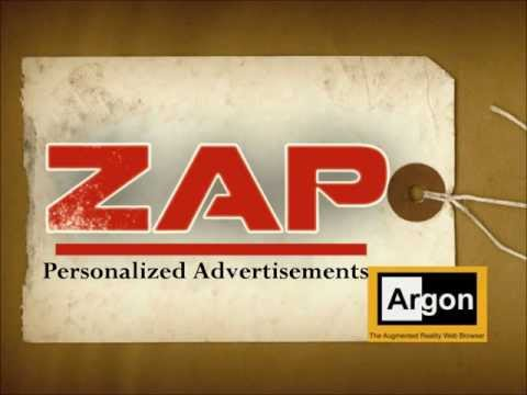 ZAP Personalized Ads