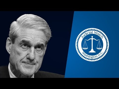 Inside Judicial Watch: The Mueller Operation--One Year Later