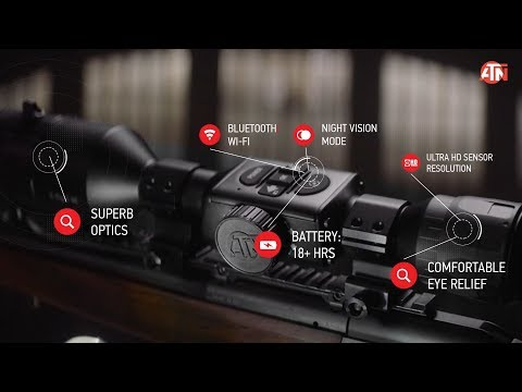 This ATN X-Sight 4K PRO Day & Night SMART HD Optic Gives You More!