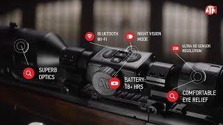 У цьому АТН X-візування 4К про день і ніч смарт-HD оптичне дає вам більше!