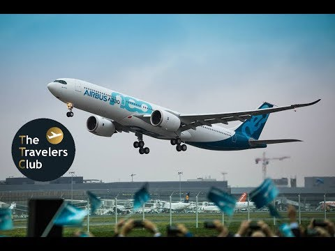 AIRBUS A330neo FIRST FLIGHT | TOULOUSE | AIRBUS DELIVERY CENTER