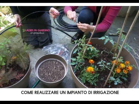 L irrigazione sul terrazzo doovi for Progettare l impianto di irrigazione
