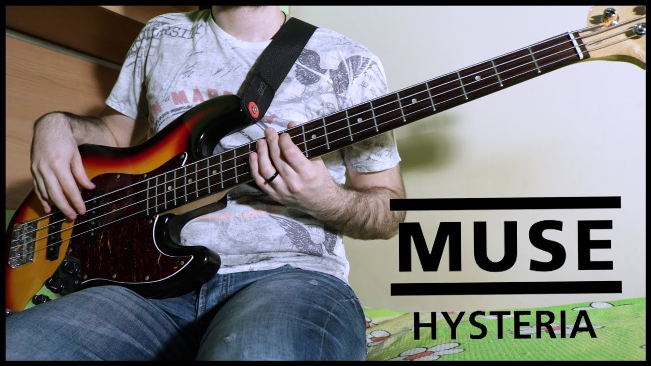 Muse - Hysteria (BASS COVER w/ TABS)