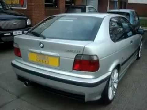BMW 318 E36 Compact Performance Exhaust by Cobra Sport Exhausts  YouTube
