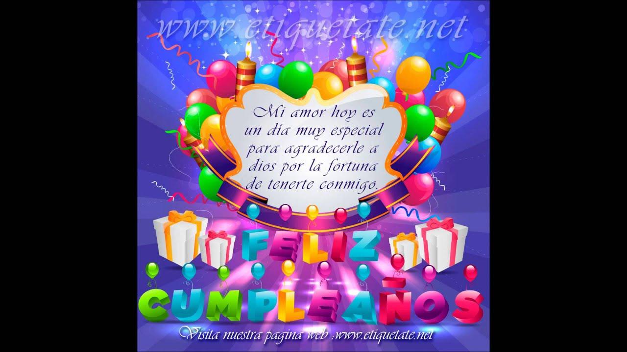 Feliz Aniversário Para Tia: FELIZ CUMPLEAÑOS PARA MI ESPOSO JL