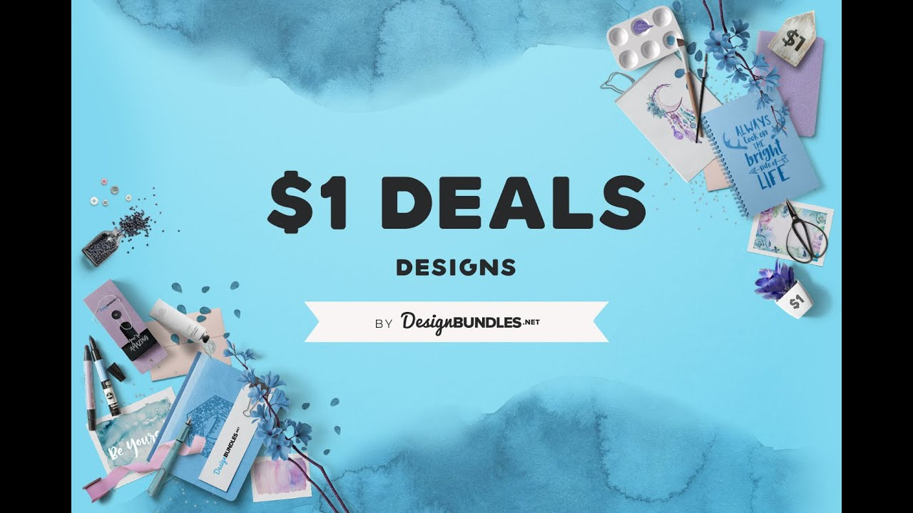 Download 1 Deals Download Premium Graphic Resources At Our One Dollar Deals Events