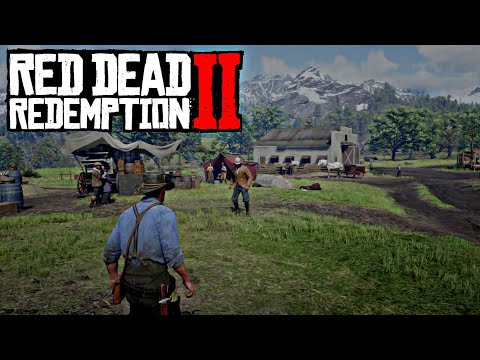 Challenging Someone to a Duel - Red Dead Redemption 2