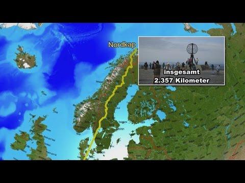 Hamburg-Nordkap und zurück mit dem Caravan Teil 1