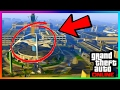 NEW SECRET HIDDEN ROOM FOUND IN AIRPORT BUILDING IN GTA ONLINE! (GTA 5 HIDDEN WALLBREACH PLACES)