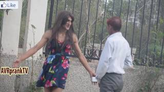 Girl Showing Ass in Public | CRAZY REACTIONS | Prank in India by AVRprankTV