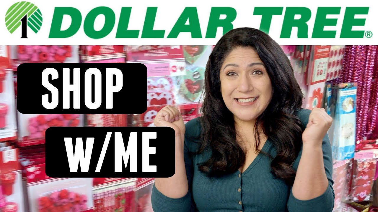 BRAND NEW Dollar Tree SHOP WITH ME - Valentine's Day