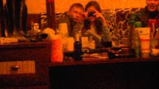 домашнее пьянство, запретное видео