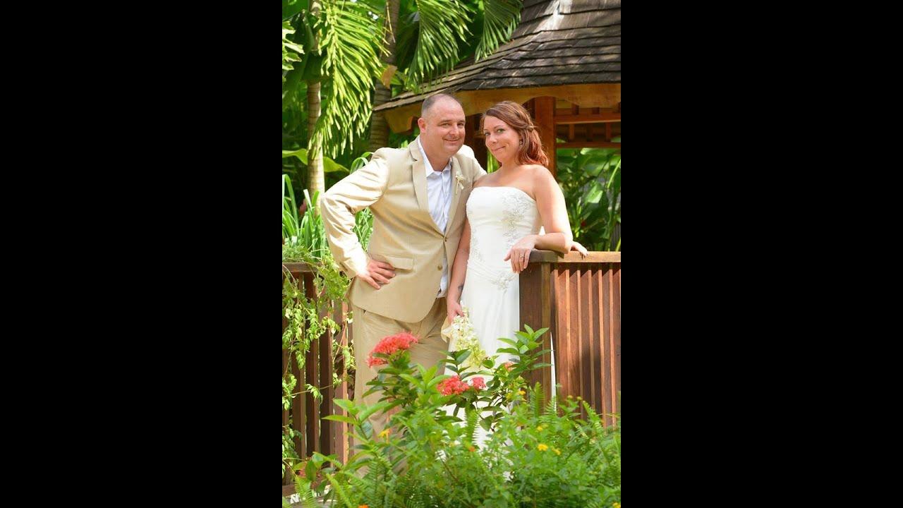 Leo Rowe Crystal Ramirez Wedding Sandals Resort Negril Jamaica