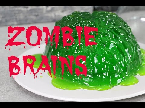 Walking Dead ZOMBIE BRAINS Dessert | My Cupcake Addiction