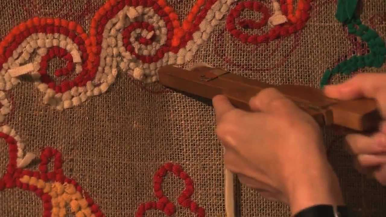 Fabric Rug Making Rag Rug Workshop Youtube