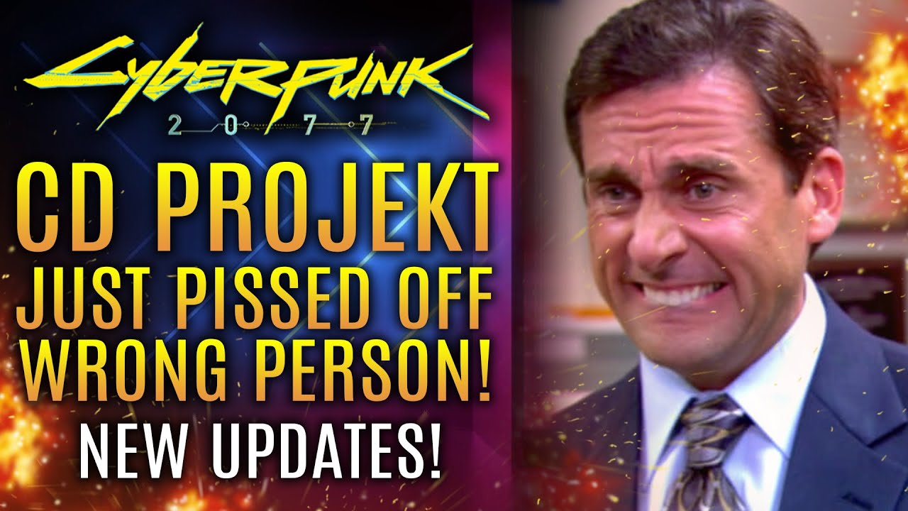 Cyberpunk 2077 - CDPR Just Upset The Wrong Person!  YIKES!  Plus New PS5 and Days Gone on PC!